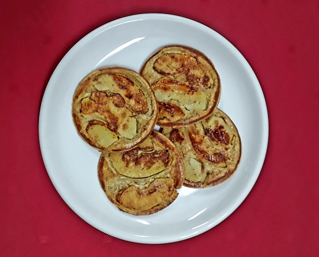 Kinderpannenkoek met appel